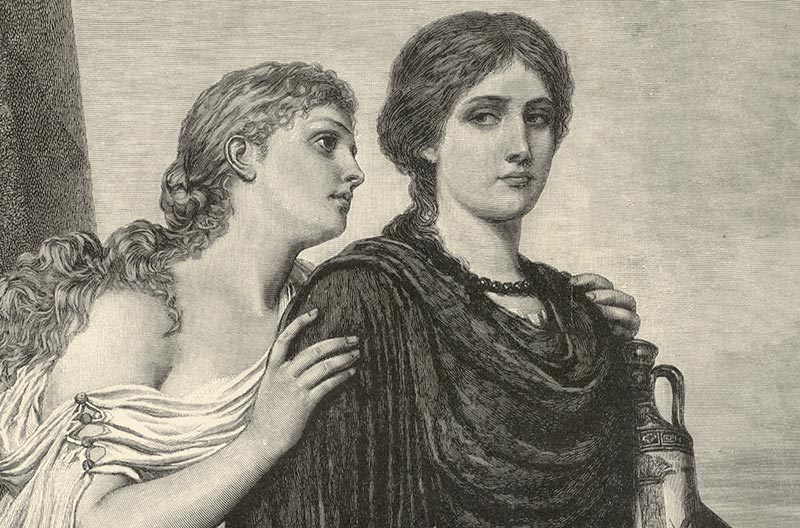 Character analysis of antigone by sophocles