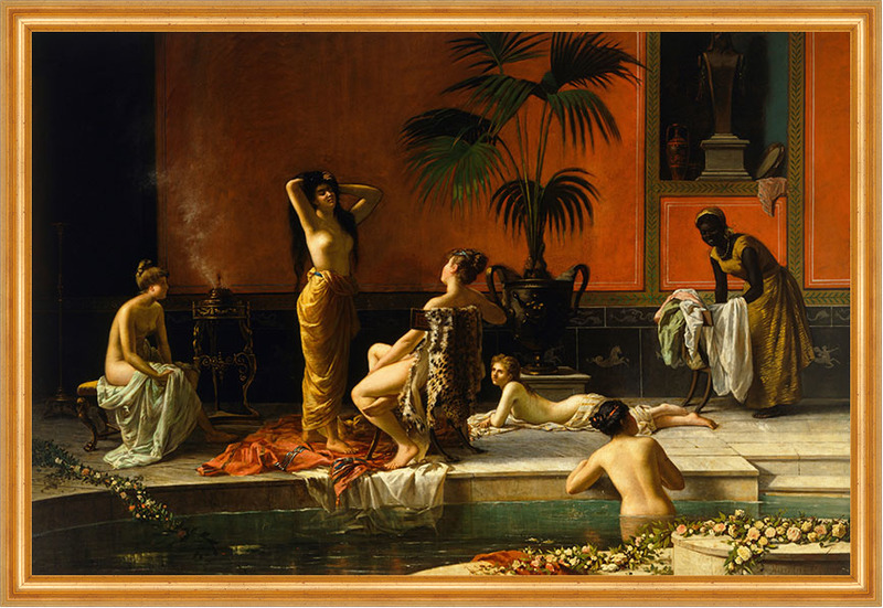 Pompeian bath niccolo cecconi donne nude bagno piscina - Ragazze nude in bagno ...