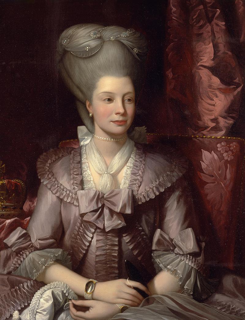 Queen charlotte benjamin west k nigin adel mecklenburg strelitz adel b a3 00834 billerantik - Meubelen cottage berg ...