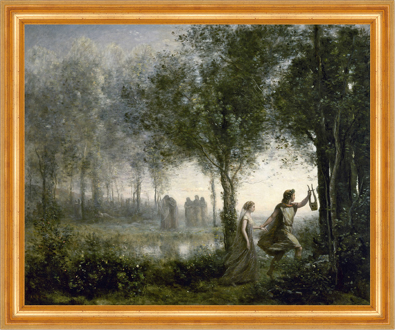 orpheus leading eurydice from the underworld Orpheus leading eurydice from the underworld museum essay camille corot was a naturalistic painter and a printmaker etching he was born in paris, france and lived in.