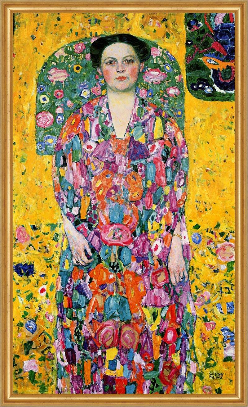 Bildnis Eugenia Primavesi Porträt Frauenbildnis LW Gustav ...