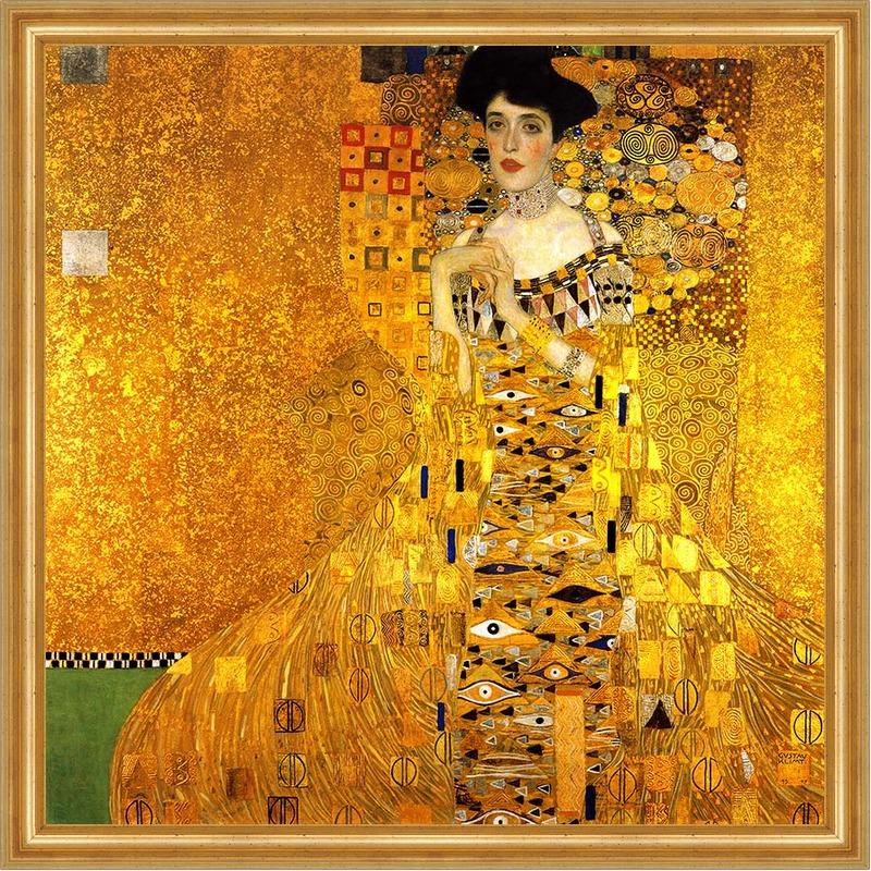 woman in gold. Black Bedroom Furniture Sets. Home Design Ideas