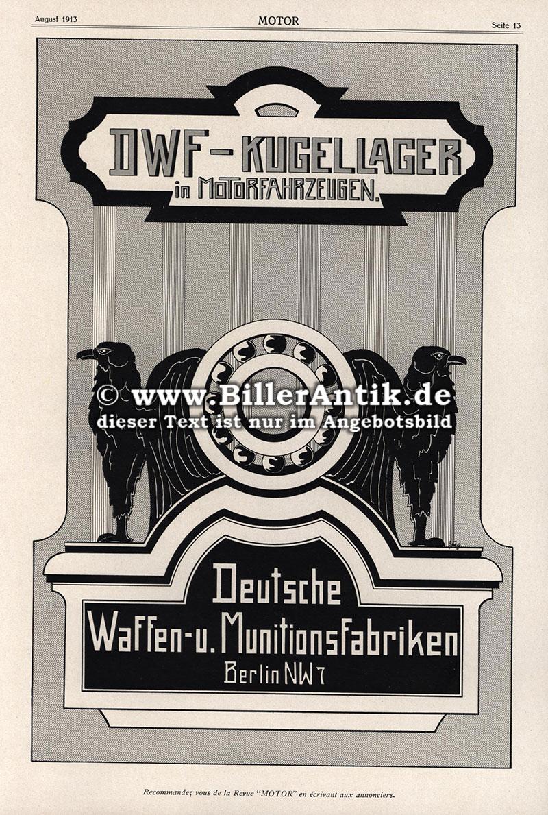 luft verkehrs gesellschaft berlin johannisthal dwf flugzeuge motor original 115 ebay. Black Bedroom Furniture Sets. Home Design Ideas