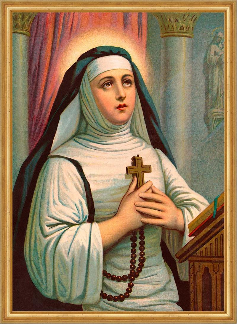 Heilige theresa von avila schutzpatronin karmeliter st lw - Teresa von avila zitate ...
