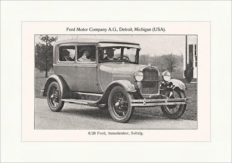 Ford innenlenker 5 sitzig motor company detroit michigan for Ford motor company detroit mi