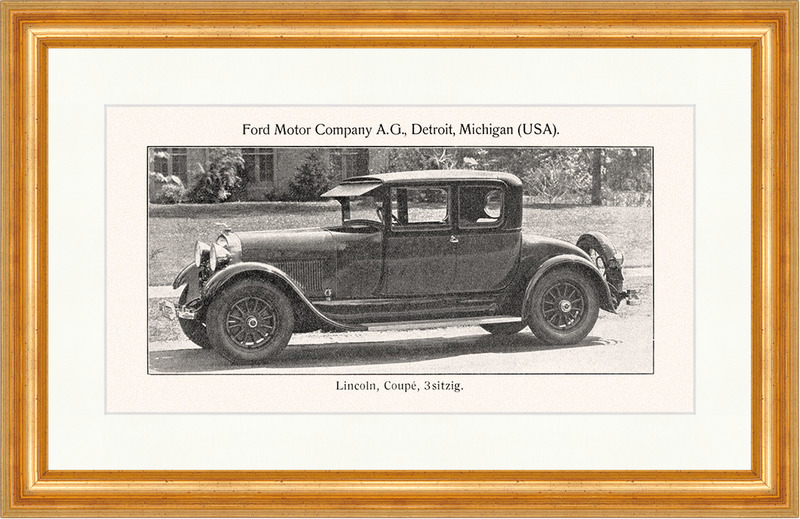 Lincoln coupe 3 sitzig ford motor company ag detroit for Ford motor company detroit mi