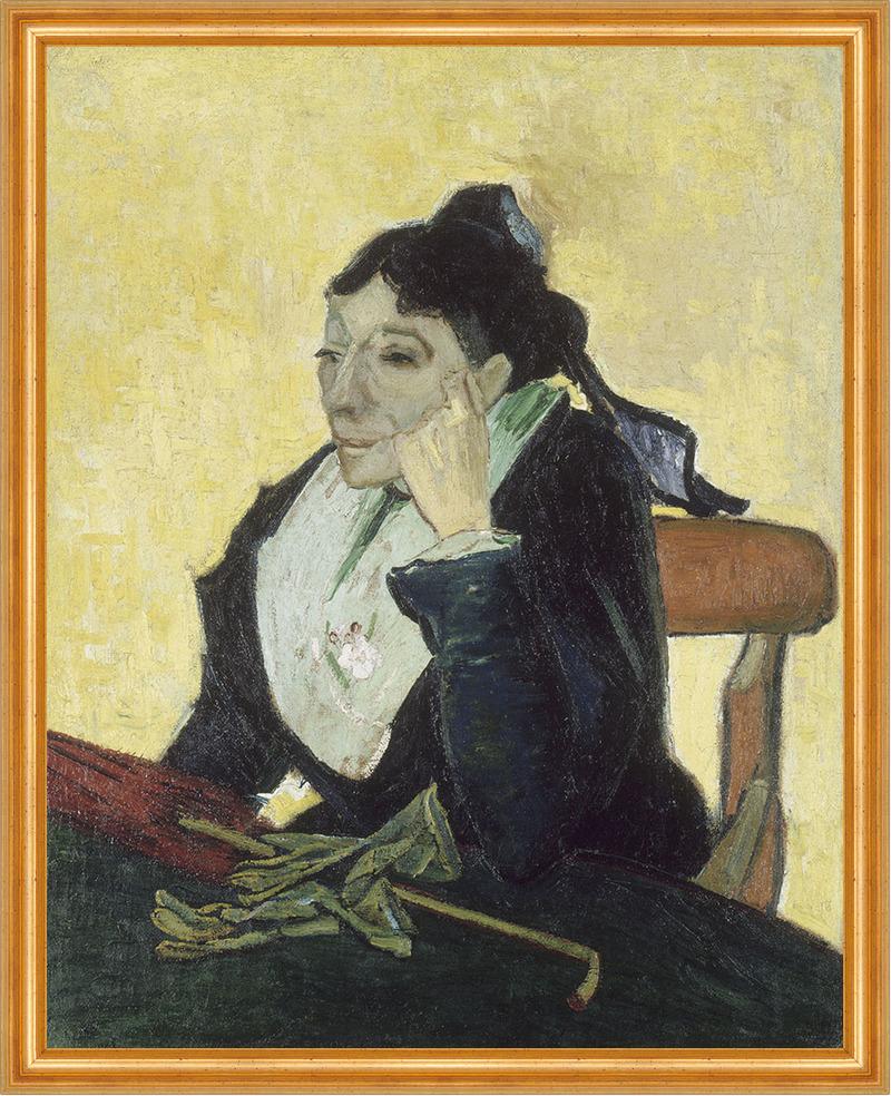 The Arlesienne Vincent Van Gogh Frauen Stuhl Alt Schirm