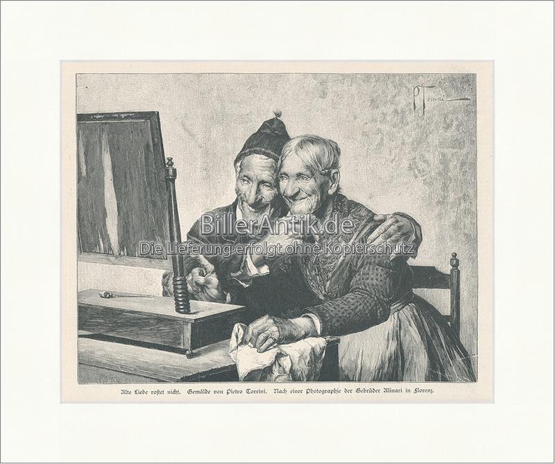 Alte Liebe rostet nicht. Pietro Torrini Greise Spiegel Tuch ...