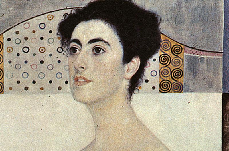 Bildnis Margaret Stonborough-Wittgenstein Frauenporträt LW Klimt A2 071