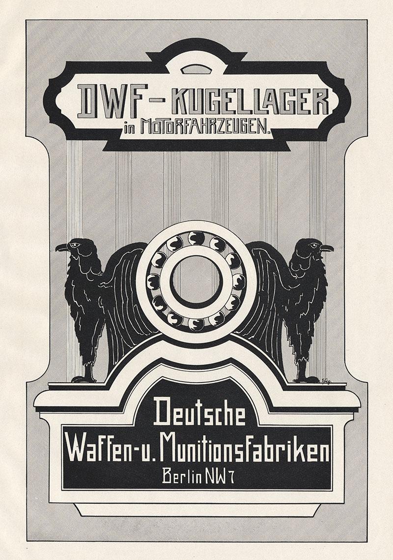 dwf kugellager in motorfahrzeugen adler berlin plakat braunbeck motor a2 521 billerantik. Black Bedroom Furniture Sets. Home Design Ideas