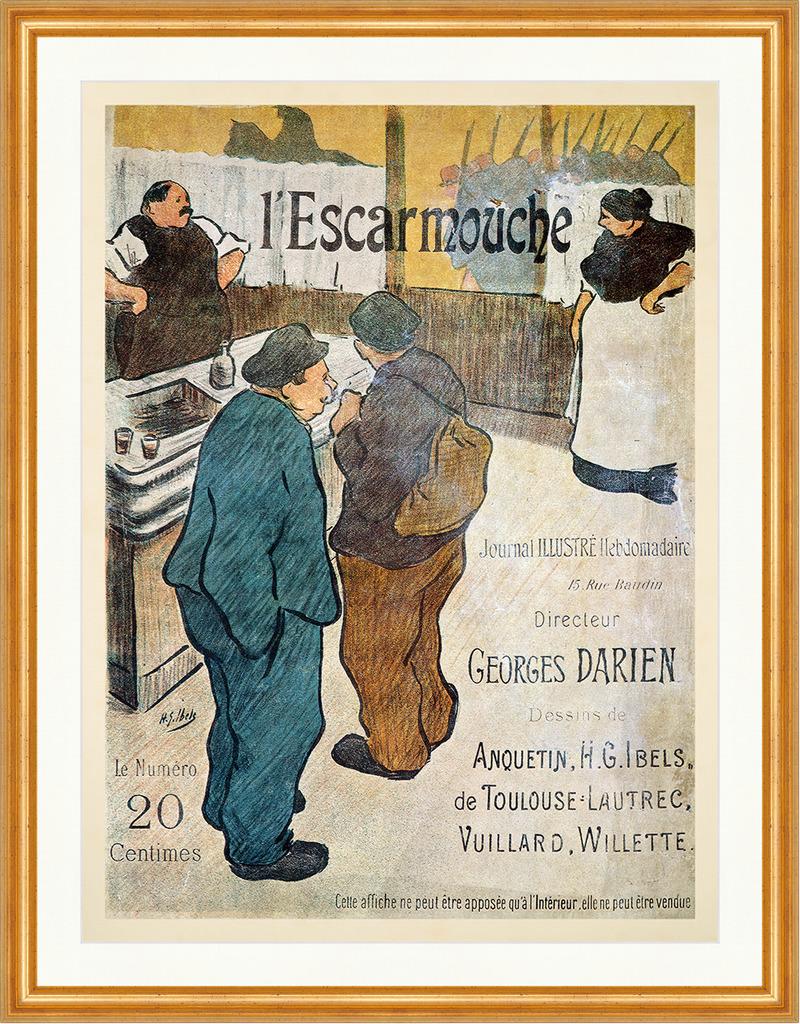 Manuel Orazi Art Grafiker Jugendstil Werbung Kunstdruck Plakate A2 394
