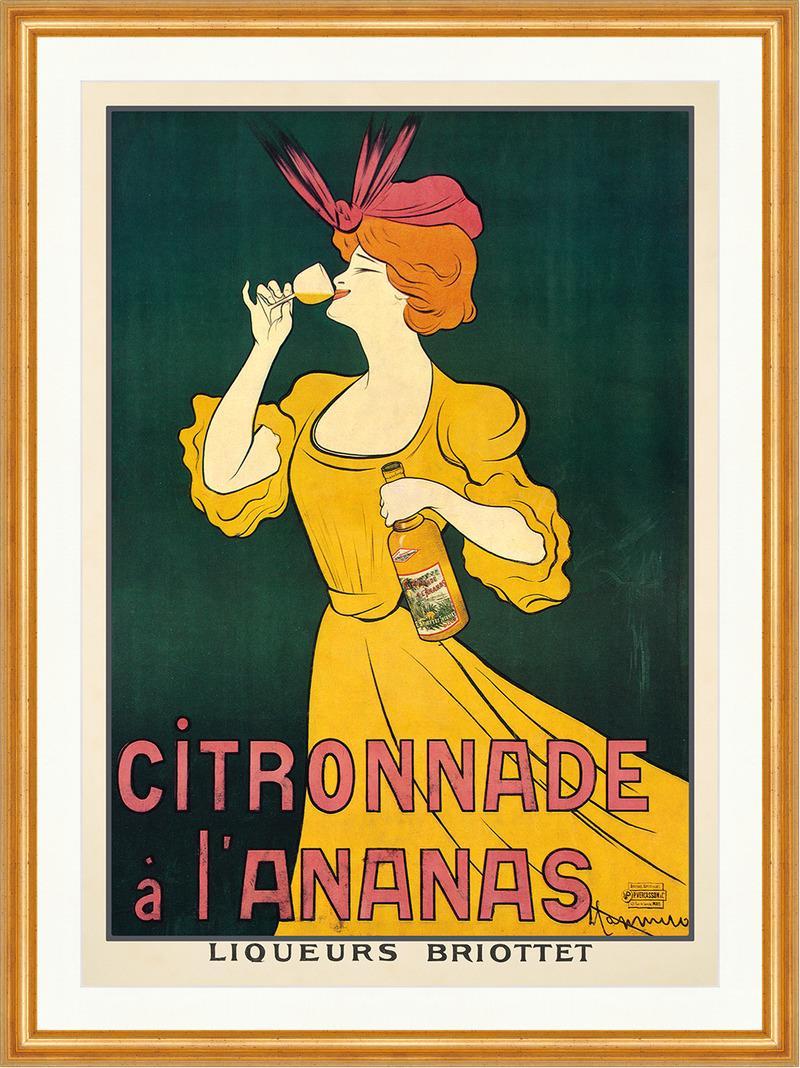 Citronnade a L Ananas Leonetto Cappiello Edel Jugendstil Plakat ...