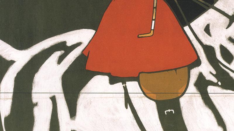 Hermann und Scherer Ludwig Hohlwein München Pferd Kunstdruck Plakatwelt 970