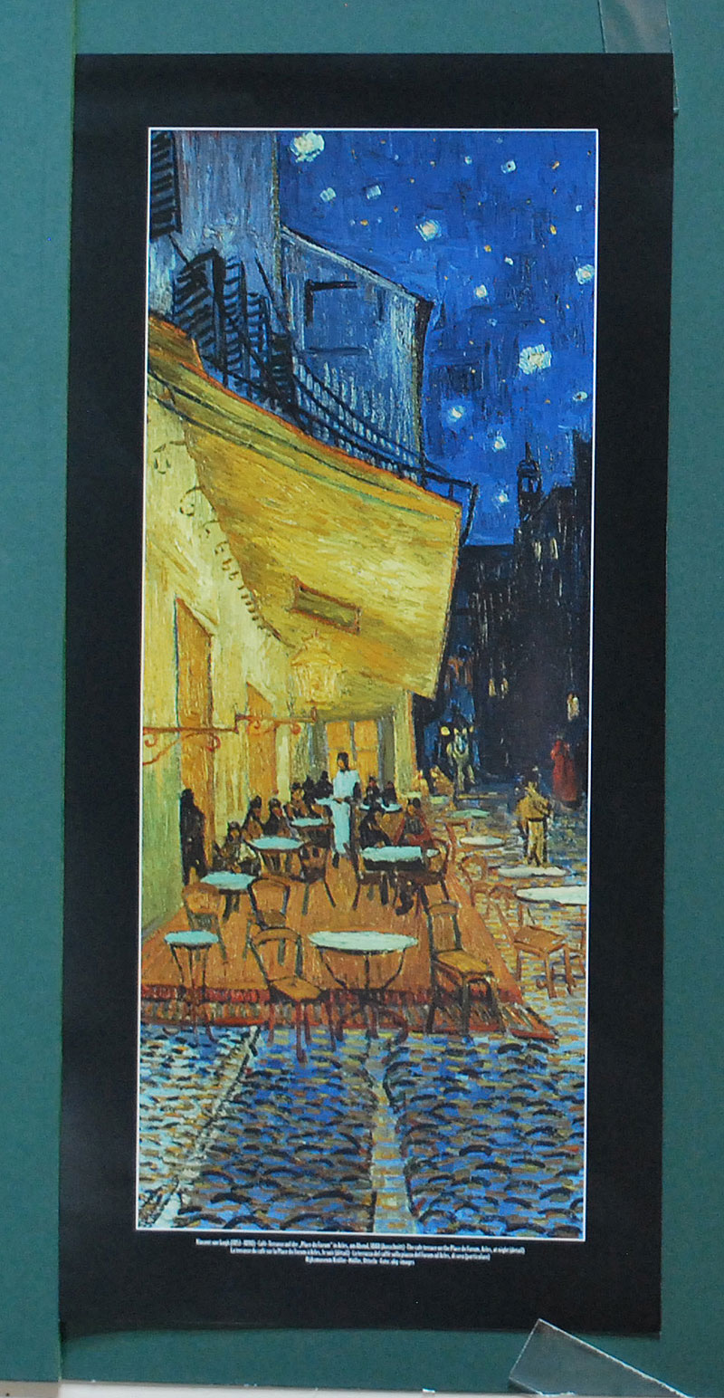 Cafe Terrasse Auf Der Place Du Forum In Arles Vincent Van Gogh