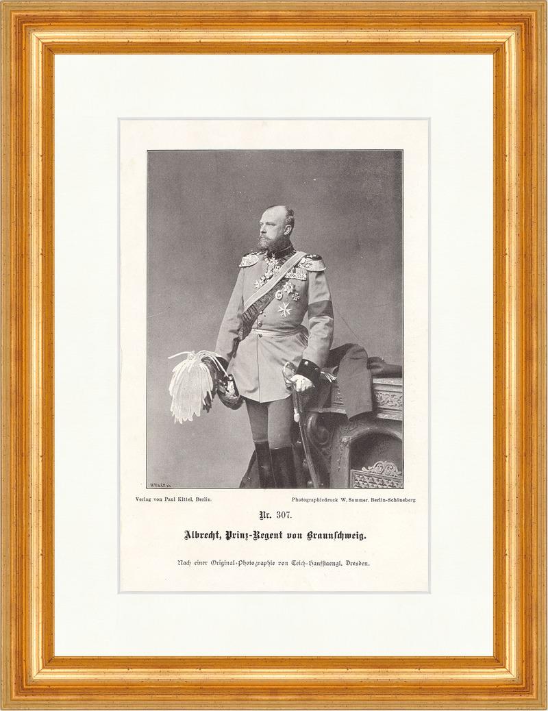 Albrecht, Prinz-Regent von Braunschweig Deutsches Reich Unser ...