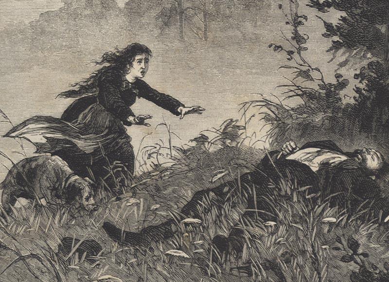 Todt Auf Ewig Todt Jäger Wilderer Frau Hund Waldrand Toter Jagd Waidmann 0425