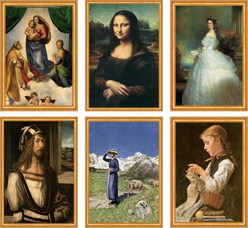 Les cerises Maler des heiligen Herzens Seraphine Louis Kirschen Kunst H A3 656